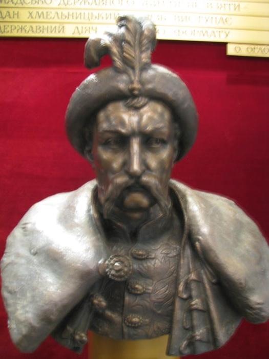 Музей Чигирин бюст Хмельницький