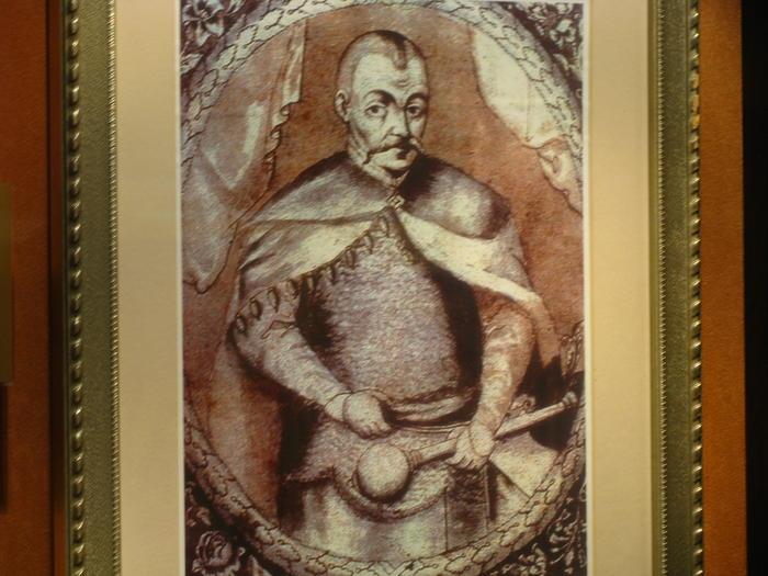 Портрет Хмельницького