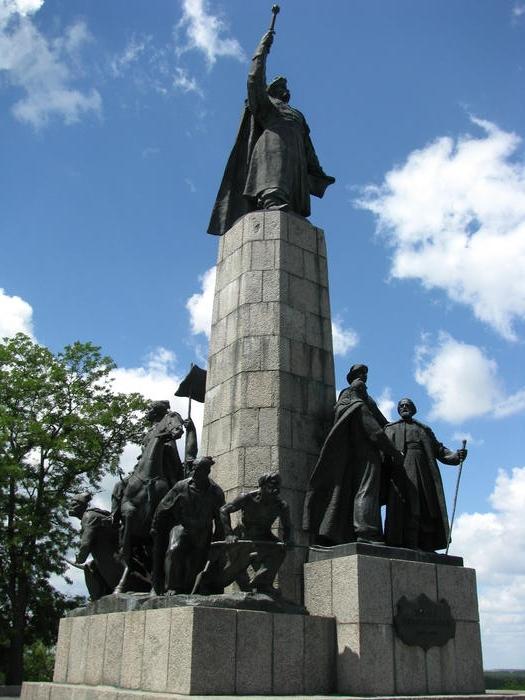 Чигирин пам'ятник Хмельницькому