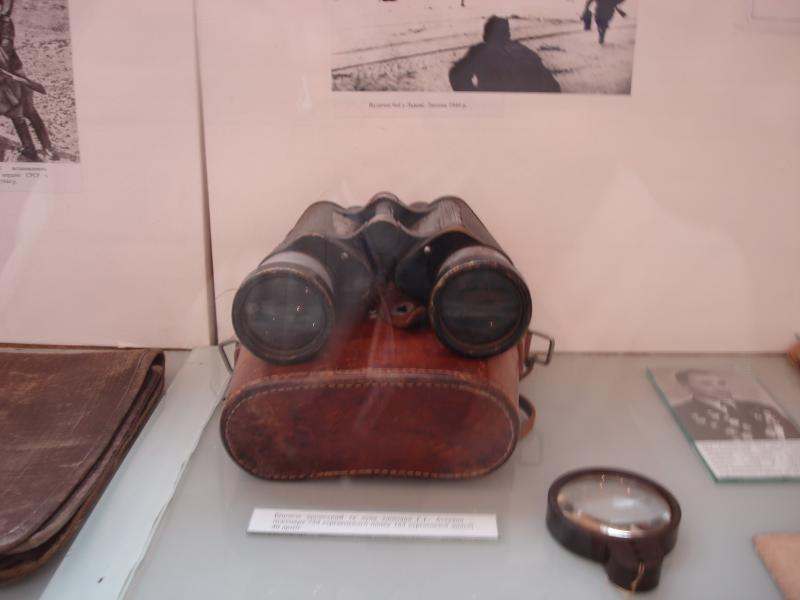 корсунь музей бінокль