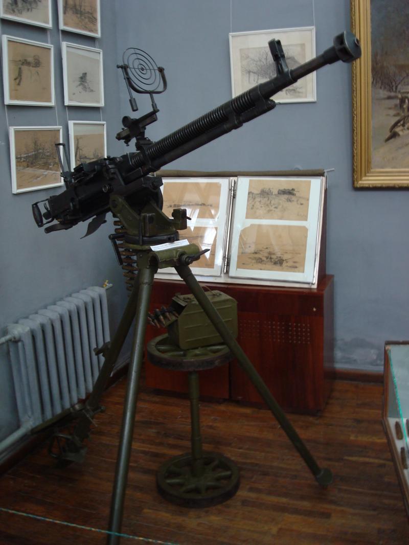 корсунь музей кулемет зенітка