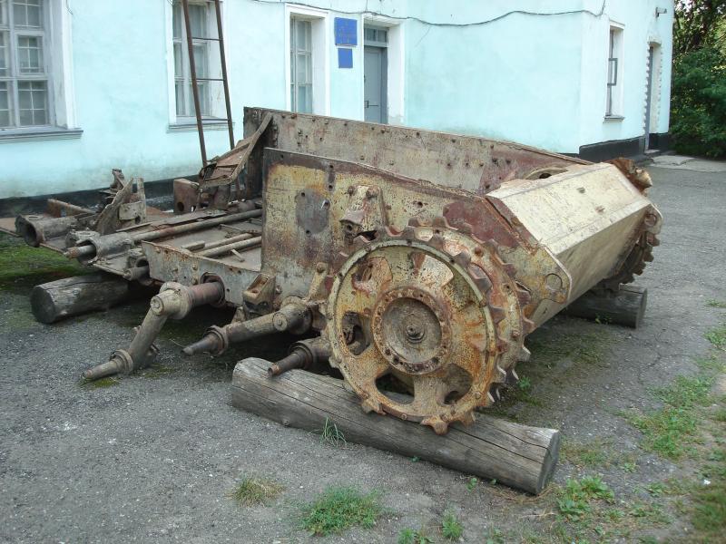 корсунь музей залишки танка