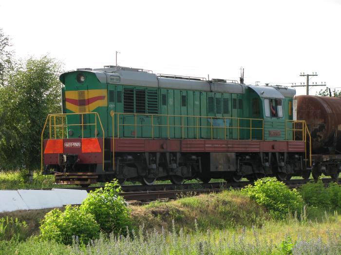 Сміла залізничний переїзд