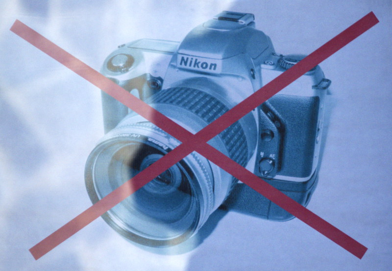 заборона фотографувати