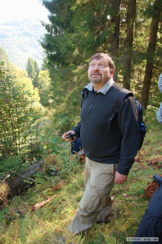 Василь в лісі