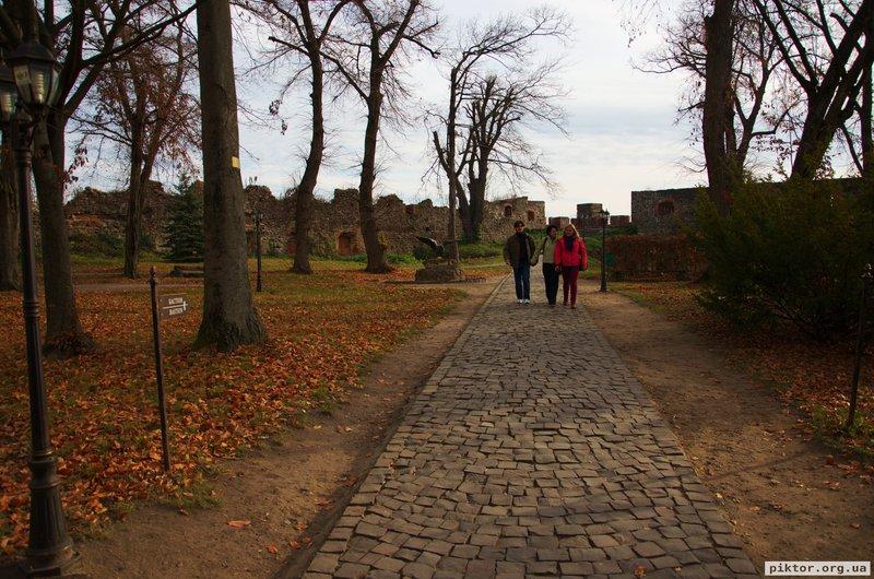 Парк в замку