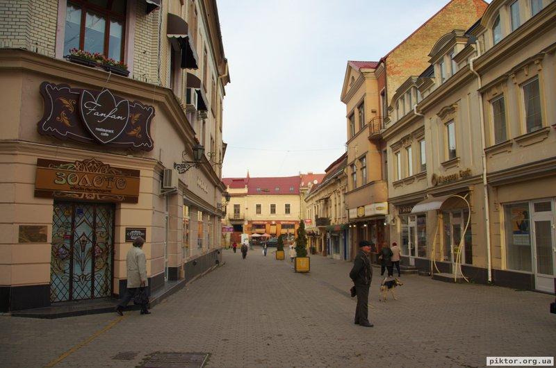 Центр Ужгорода