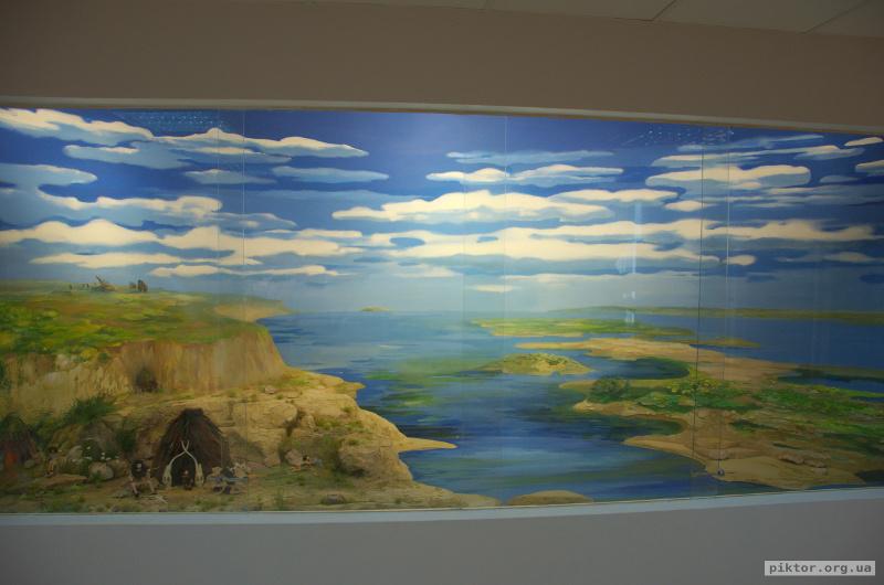Діорама Мезинської стоянки
