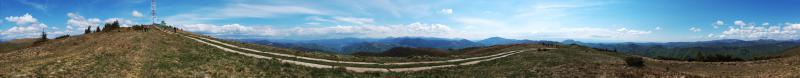 Панорама гори Терентин