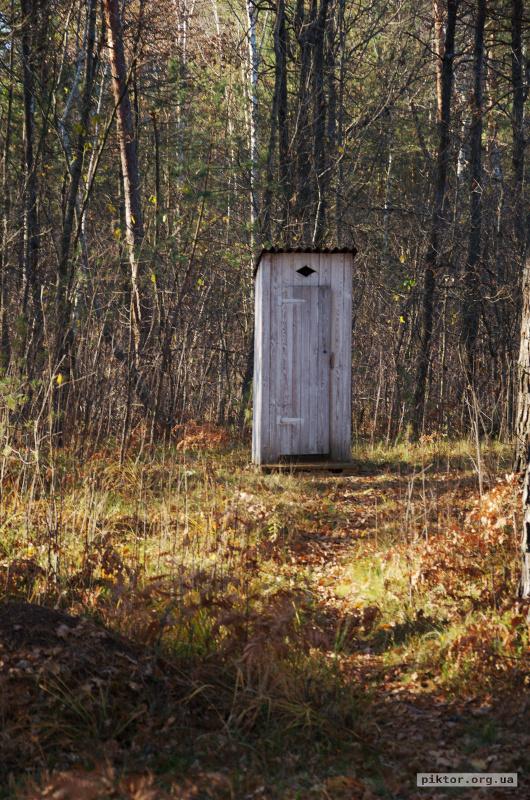 Туалет на природі