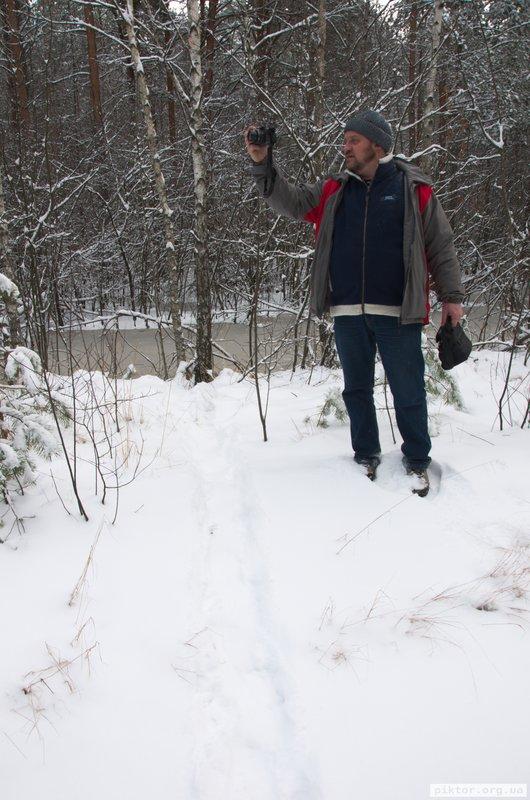 Ярослав Козак в лісі