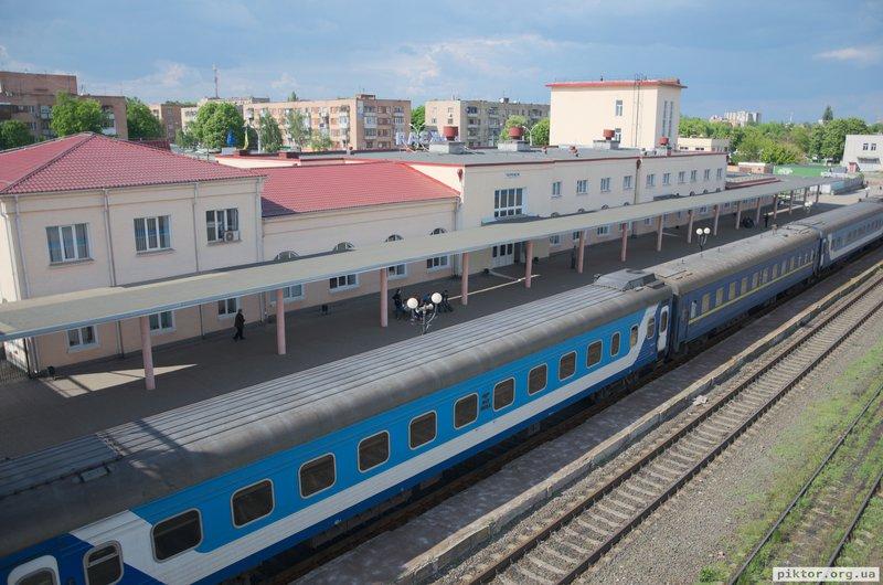 Залізнична станція Черкаси