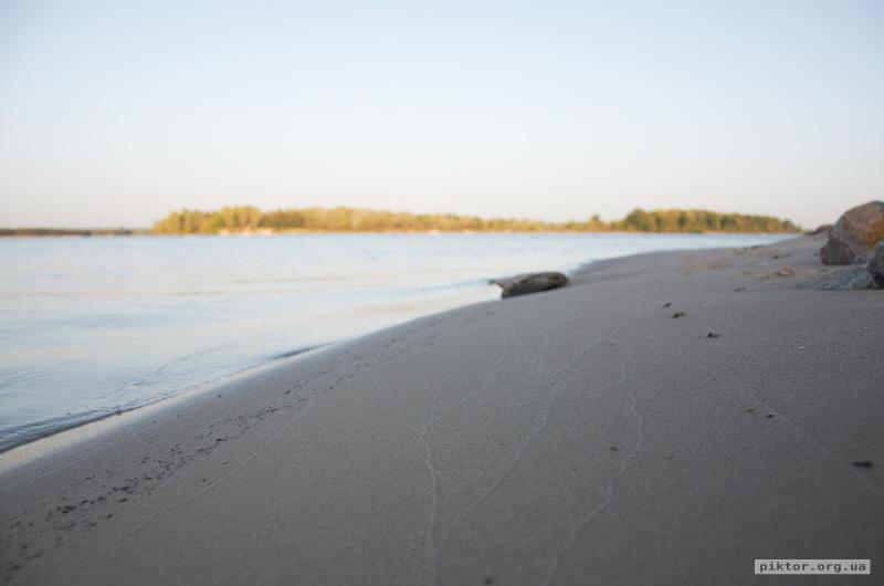Узбережжя Дніпра в Каневі