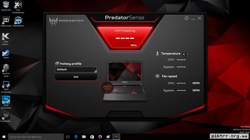 Acer Predator 17 G9-791G