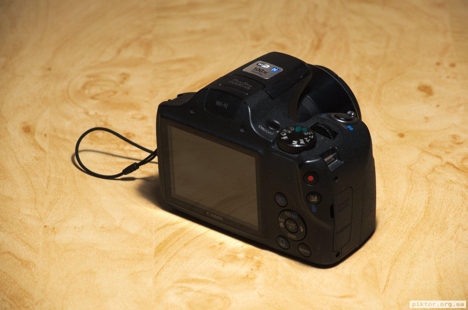 Canon Powershot Sx530 Hs Back