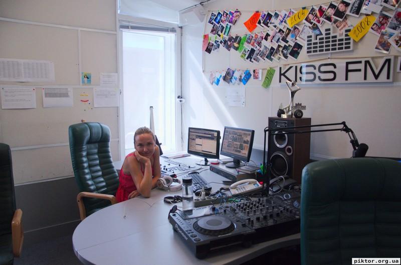 Kiss FM студія