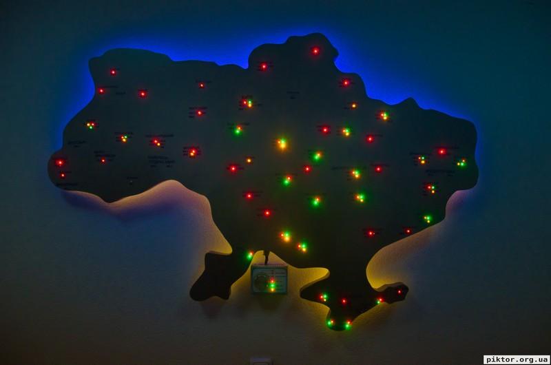 Мапа радіостанцій