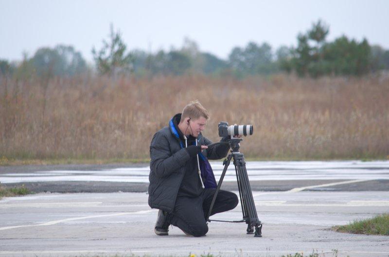 Зйомки на полі