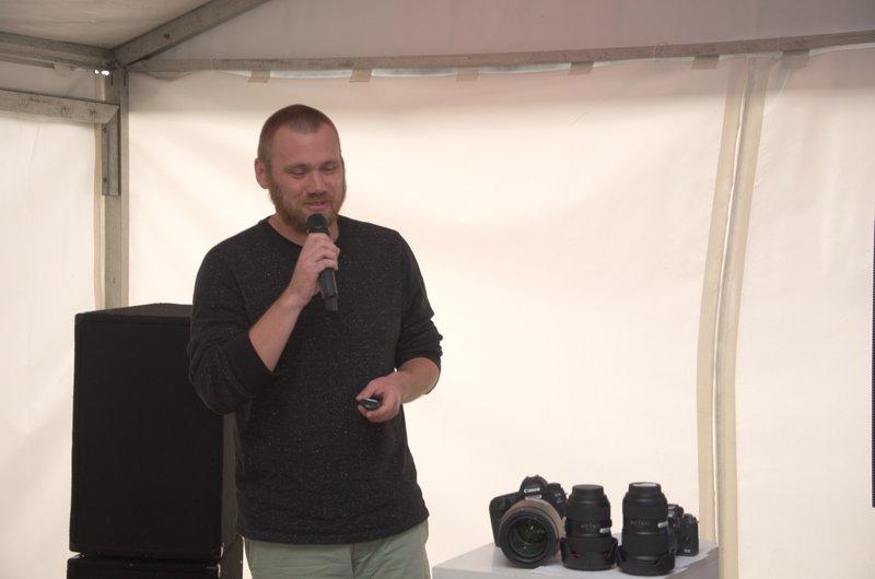 Виступ фотографа