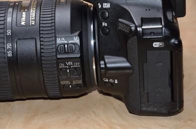 Ліва частина D5500