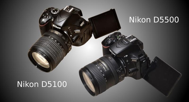 D5100 та D5500