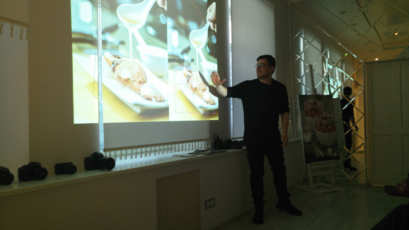 Майстер клас food фото Canon