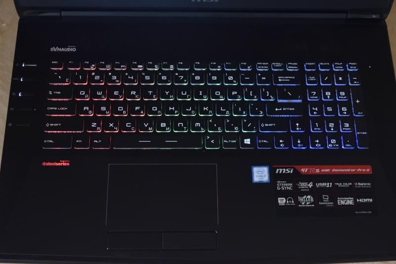 Підсвічена клавіатура