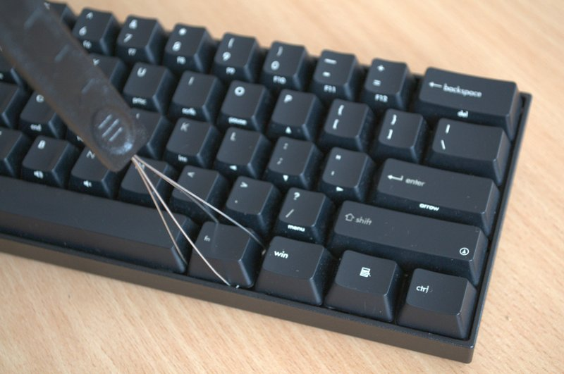 Виймання клавіш