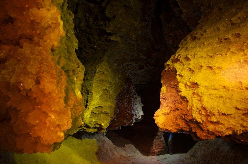 Кольорова печера