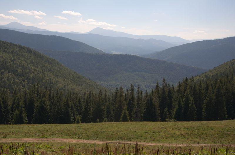 Краєвиди на Чорногору