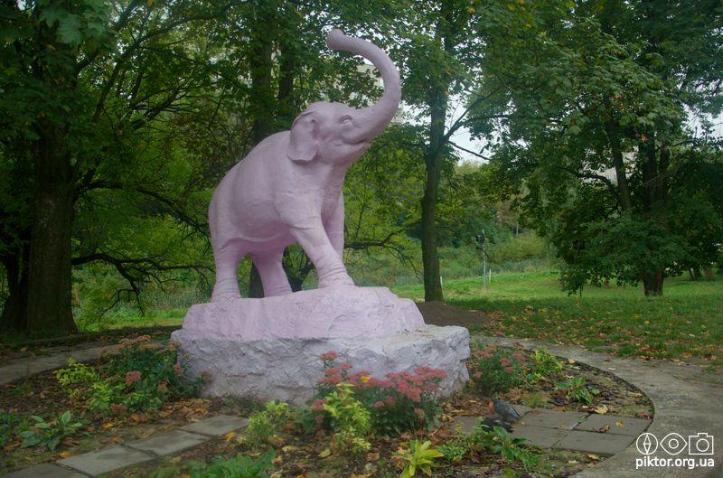 Рожевий слоник