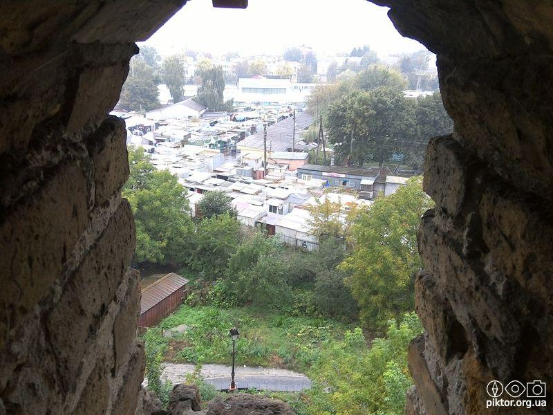 Вид на місто із замку
