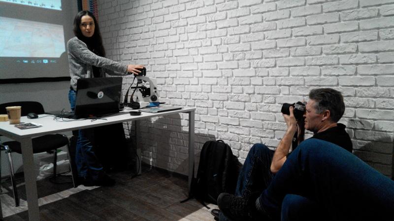 Встановлення камери