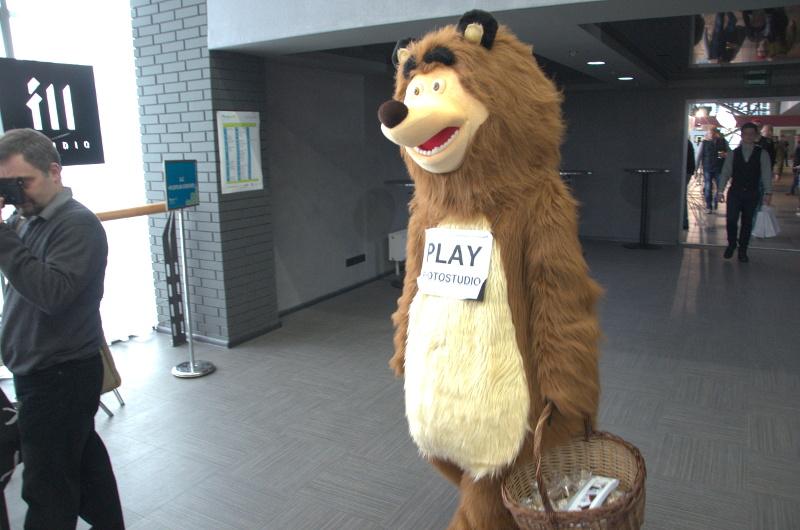 Рекламний ведмідь