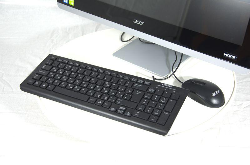 Клавіатура та мишка