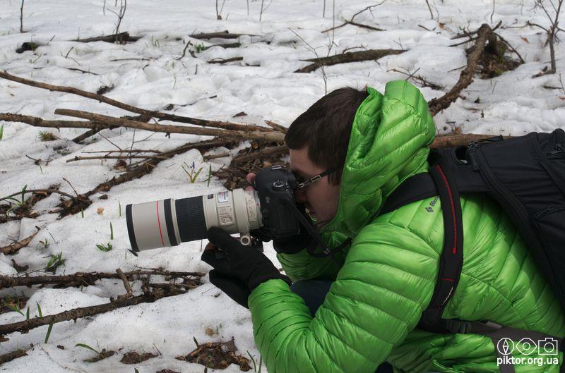 Фотограф підсніжників