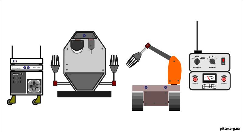 Pocket bots